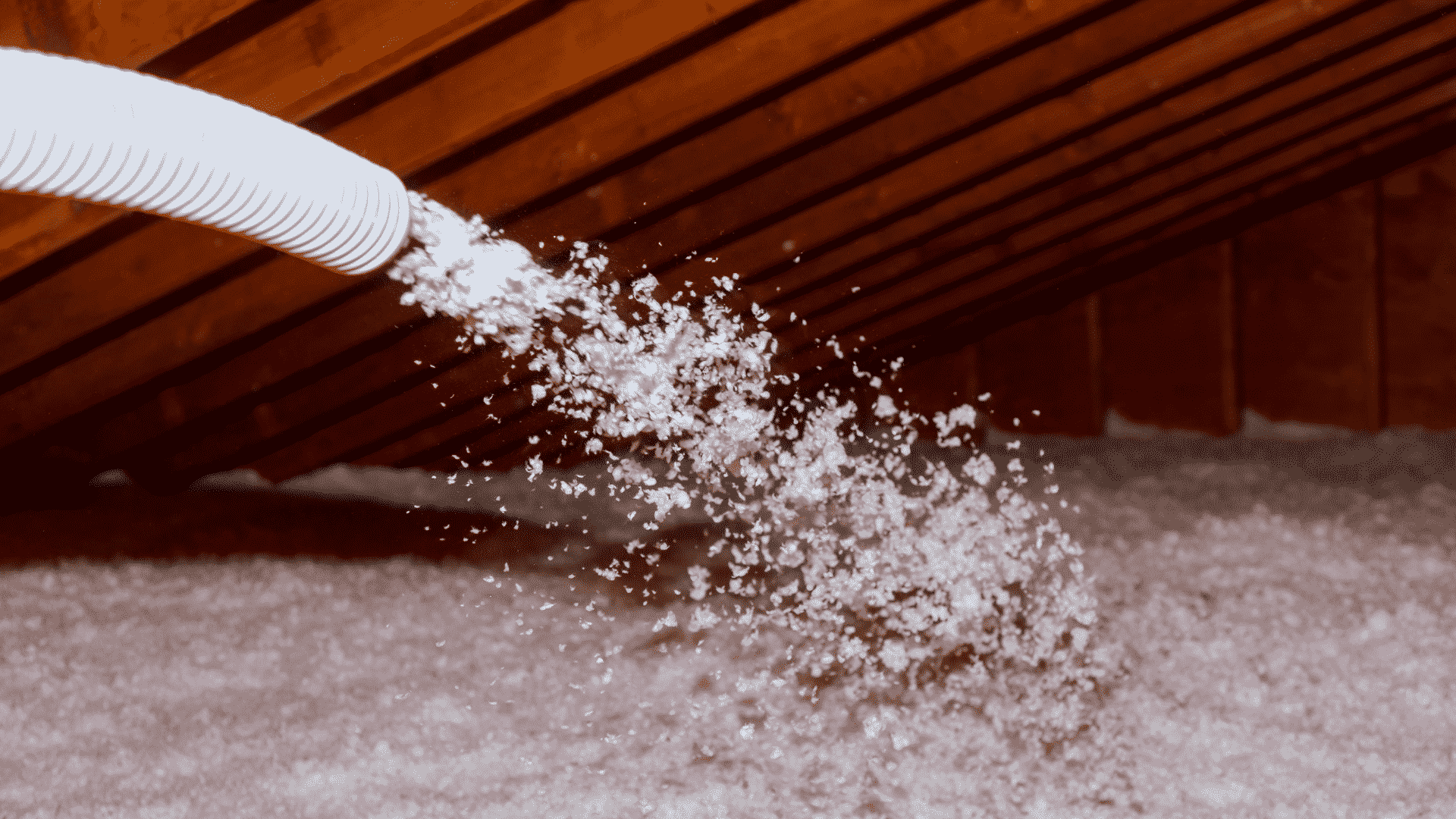 types of attic insulation-blown-in
