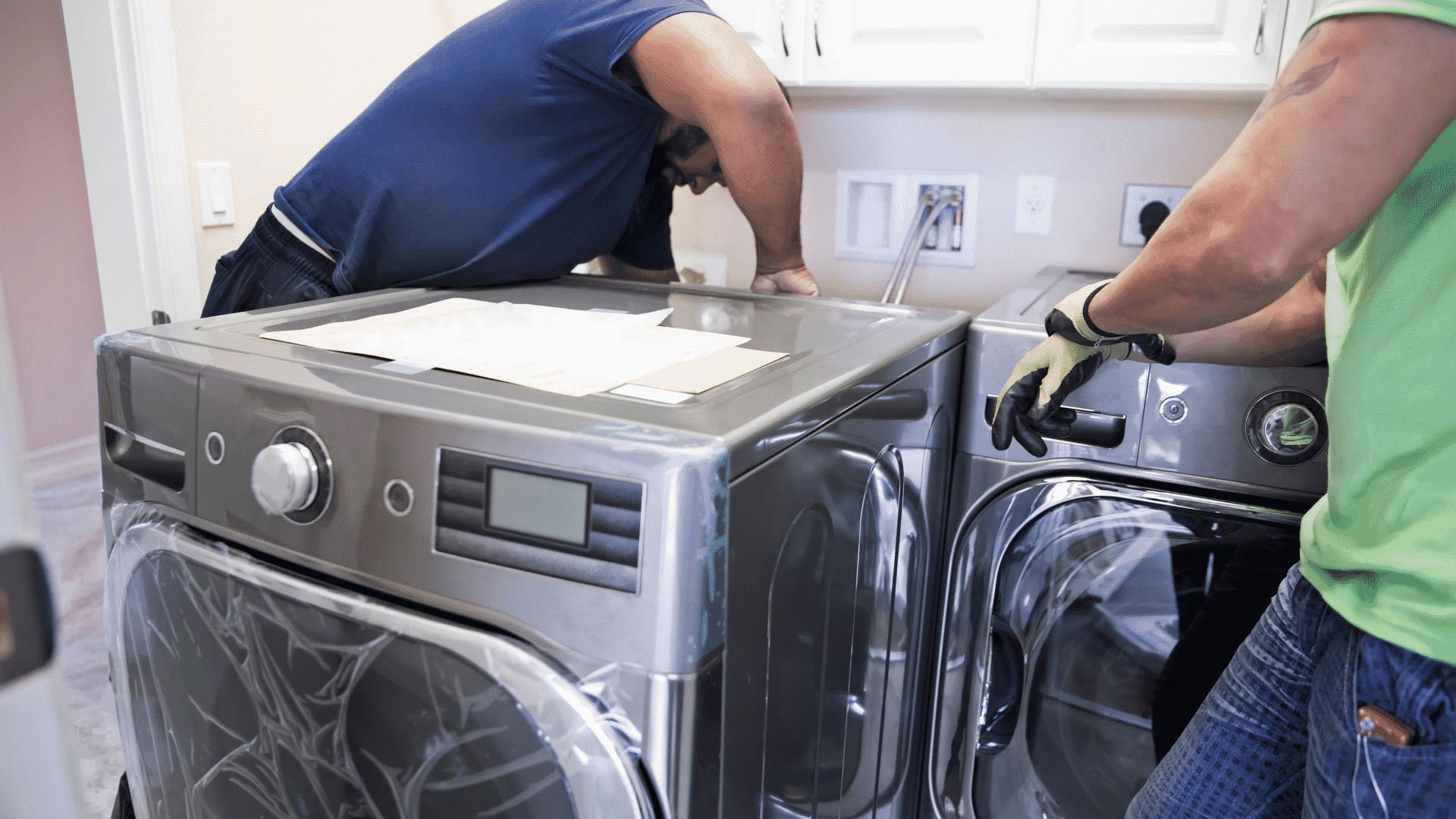 installing dryer