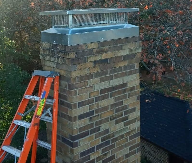 after our chimney cap repairs