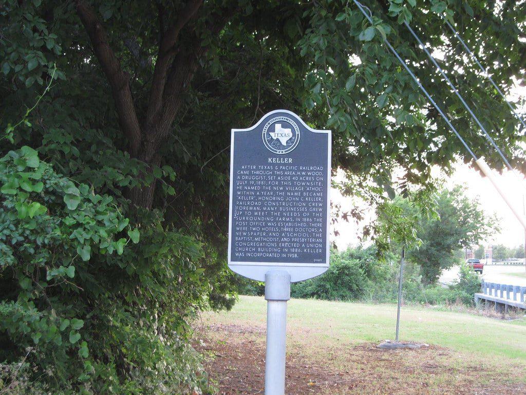 Keller, TX Sign